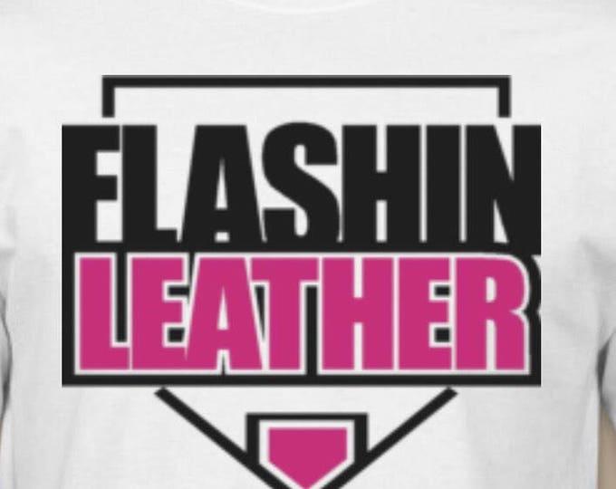Flashin Leather Tshirt