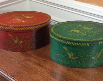 Vintage Handmade Keepsake Boxes
