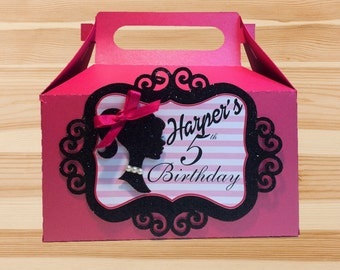 Barbie Gable Box Custom Designed by InkSpireVe made with Premium Heavy Weight Cardstock