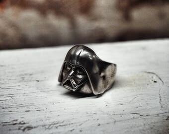 Darth Vader Ring Silver 925 Limited Edition