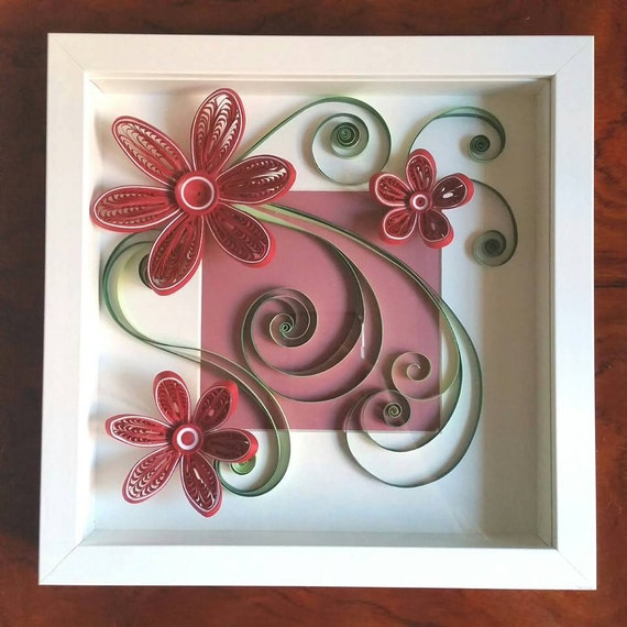 Quilling Art Quilled Paper Art Quilling Frame Paper Wall