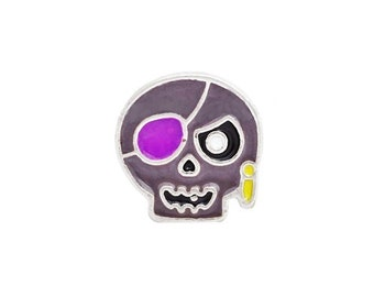 Halloween Skeleton Floating Charm