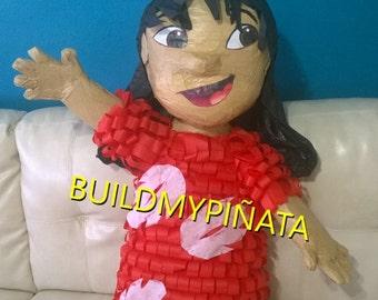 "Lilo & stitch( little girl)  3D, 26"" tall."