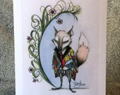 Asher's Fox 5x7 Print
