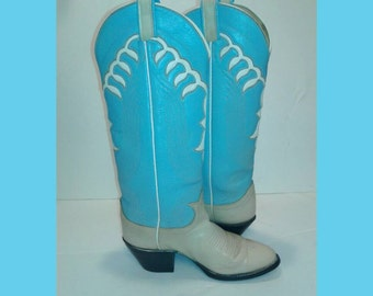 SALE! Vintage Tony Lama Cowboy Boots
