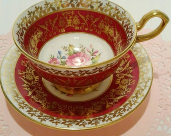 Free Shipping Vintage Collingwoods Cup and Saucer