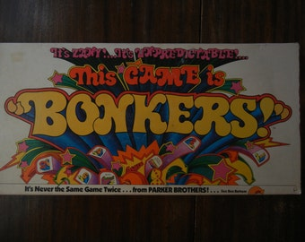 This Game Is Bonkers ~ 1978 ~ Parker Brothers