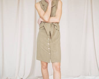 FIORELLA OLIVE DRESS