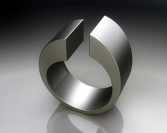 Silver ring 925, artgianato made in italy, contemporary style, design
