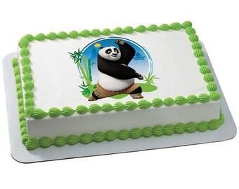 """Kung Fu Panda 3 Power of Chi Edible Image® Cake Topper - 6"""""""
