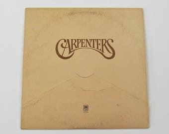 Carpenters Vinyl LP Album A & M Records SP 3502 Soft Rock