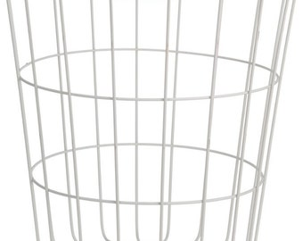 Coffee table white wire