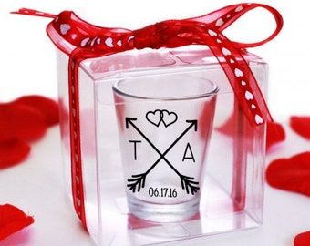 Clear Gift Boxes | 50 Units | Perfect For Our Shot Glasses Wedding Favors
