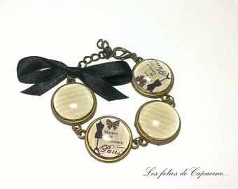 Bracelet cabochons •MAISON DE COUTURE•