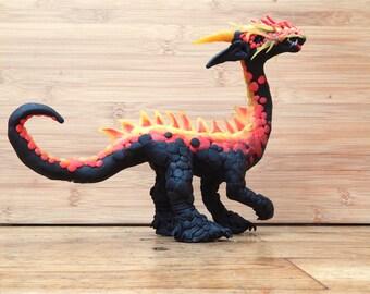 "Fire dragon girl ""Yzzimora"""