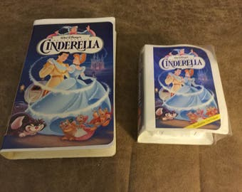 Cinderella (VHS, 1995) - Walt-Disney-Rare Masterpiece Collection # 5265 With Matching McDonalds Happy Meal Toy