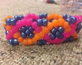 CUSTOM DNA kandi cuff bracelet