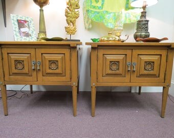Superb 2 Mid Century Unique Furniture Makers End Tables