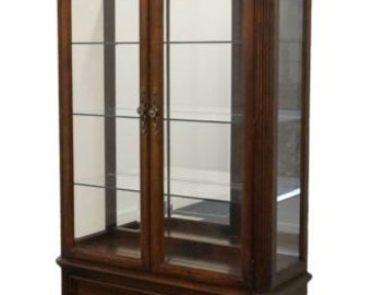STANLEY FURNITURE 46″ Lighted Curio / Display Cabinet 192-11-10