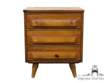 FRANKLIN SHOKEY Hand Burnished Pine Chest Nightstand 103
