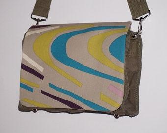 Messenger canvas shoulder bag shoulder bag shoulder bag fabric factory