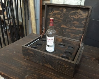 Bottle service display box