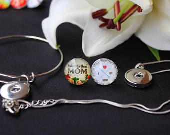 Mothers day L'Amour Snaps - Interchangeable Snap Jewellery Collection