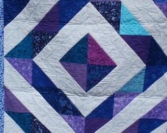 lap quilt, girl's quilt, baby quilt, crib quilt, nursery decor, modern quilt, baby modern quilt