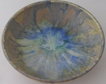 Arthur Wedgwood Pottery Crystalline Bowl