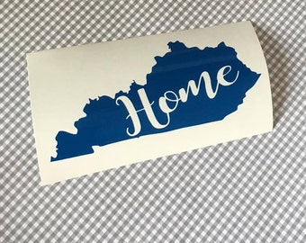 home state decal, state pride decal