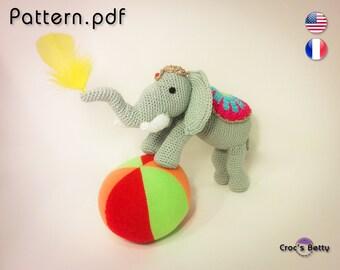Pattern - Barry the Elephant