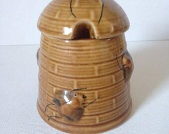 Honey Bee Pot Hive Pottery Ceramic