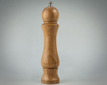 "Elm 10""  Pepper Mill"