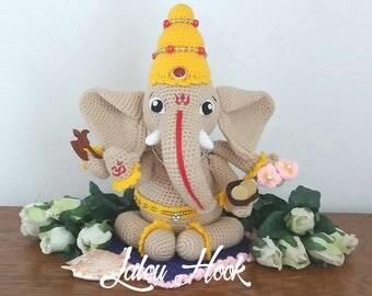 Pattern/tutorial Ganesh / Ganesha [en]