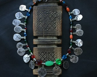 BERBER NECKLACES,ethnic necklace,Berber silver,African jewelry,Anti atlas necklace