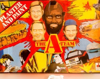 Retro A-Team Plaster and Paint set