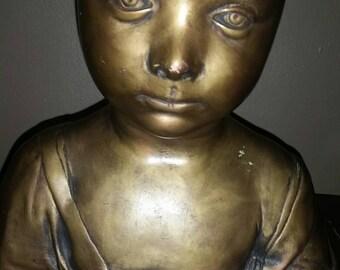 Rare reproduction of The Christ Child sculpture by Desiderio Settignano.