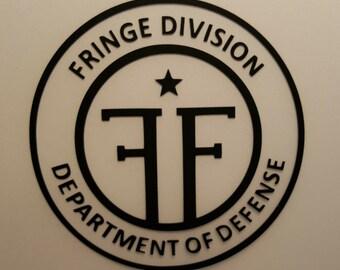 Fringe - Fringe Division  - Vinyl Decal - Multiple Colors