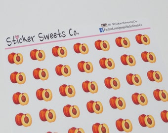 Peaches Planner Stickers