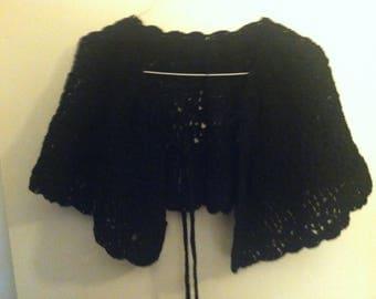 Handmade Crocheted Shawl - free shipping