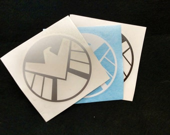 Agents of S.H.I.E.L.D. vinyl decal