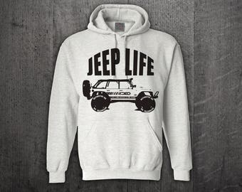 Jeep hoodie, Jeep Life hoodies, Jeep hair hoodies, Unisex hoodies, Off Roader hoodies, Cars t shirts, Jeep t shirts, Funny t shirt, Jeep Top