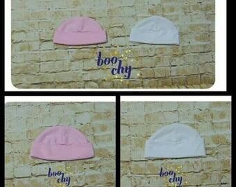 Baby round hat