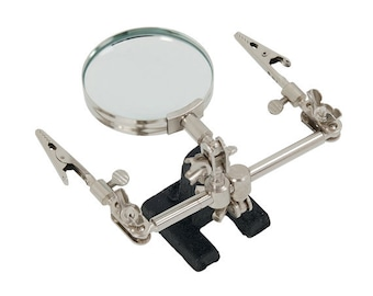 Helping Hands Magnifier Third Hand Jewellery Clamp Crocodile Clip Tool