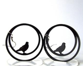 Earrings little birds