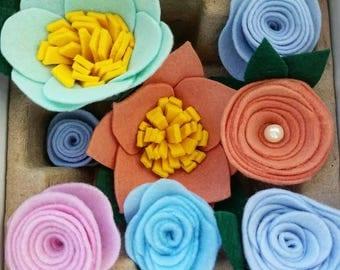 Custom Felt Flowers of your Choice
