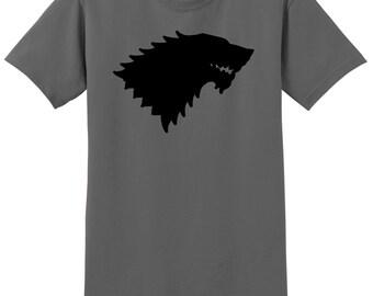 GOT Stark Family T-Shirt, Custom GOT Shirt, Stark Shirt, Sizes S-5XL, Gift for Her, Gift for Him. 2000