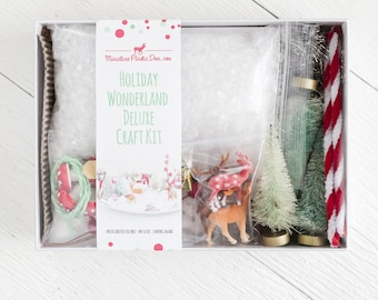Christmas Craft Kit - Holiday Wonderland Deluxe