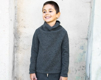Boys Wool Sweater Wool Boys Clothing Winter Sweater Soft Wool