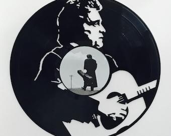 Johnny Cash Record Wall Art